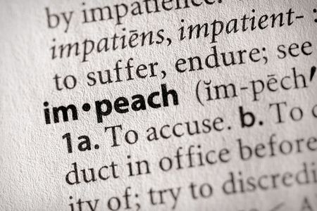 Impeachment in Procurement?