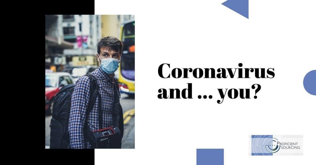 Coronavirus and … you?