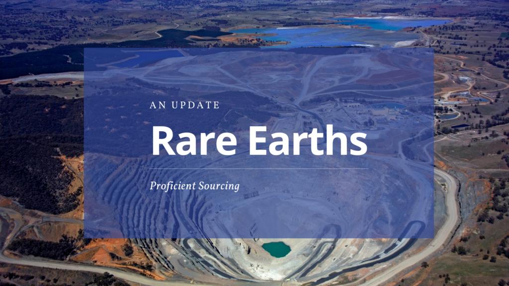 Rare Earths – An Update